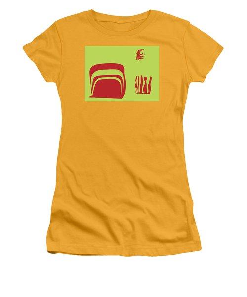 Fire Spirit Cave Women's T-Shirt (Junior Cut) by Kevin McLaughlin