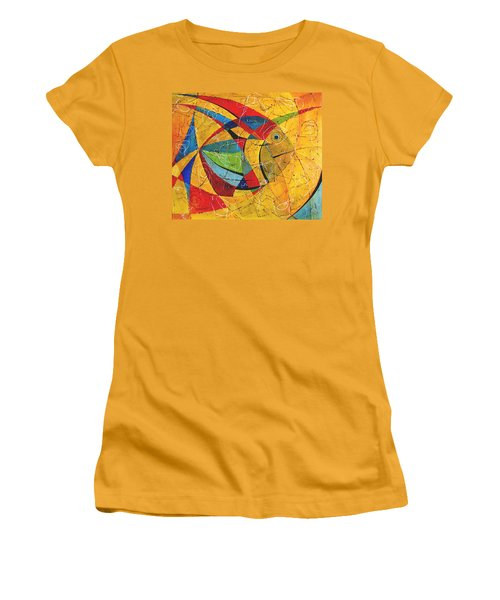 Fish V Women's T-Shirt (Athletic Fit)