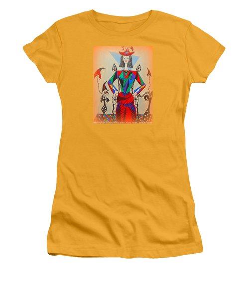 Metamorphosis Of Eleonore Women's T-Shirt (Junior Cut) by Marie Schwarzer