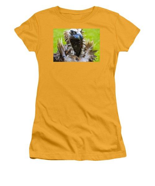 Monk Vulture 4 Women's T-Shirt (Junior Cut) by Heiko Koehrer-Wagner