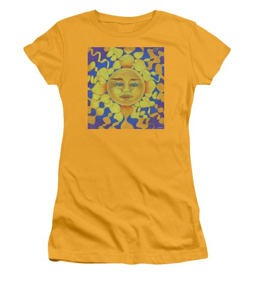 Old Man Sun Women's T-Shirt (Athletic Fit)