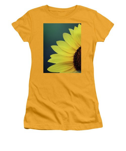 Women's T-Shirt (Junior Cut) featuring the photograph Pedals Of Sunshine by Cathie Douglas