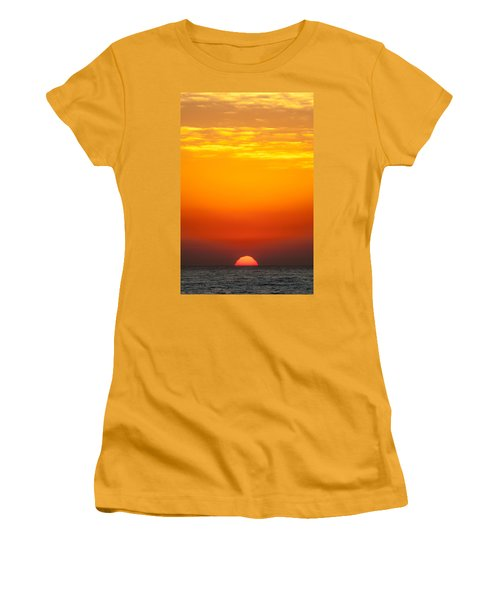 Sea Sunrise Women's T-Shirt (Athletic Fit)