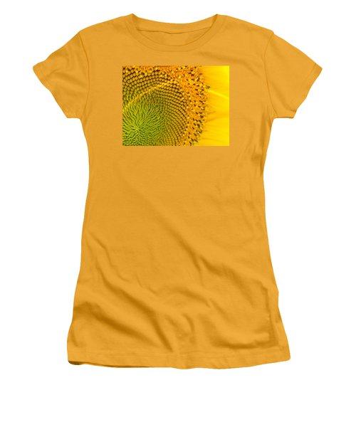 Sunflower Study 1 Women's T-Shirt (Athletic Fit)