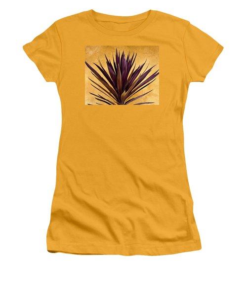 Purple Giant Dracaena Santa Fe Women's T-Shirt (Athletic Fit)