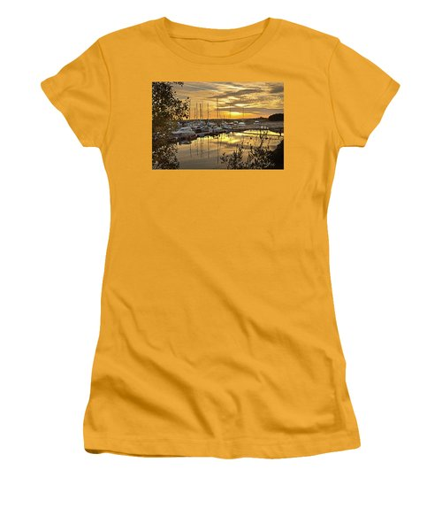 Autumn Gold Women's T-Shirt (Athletic Fit)