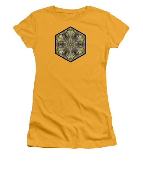 Black-throated Green Warbler Women's T-Shirt (Junior Cut) by Rhoda Gerig