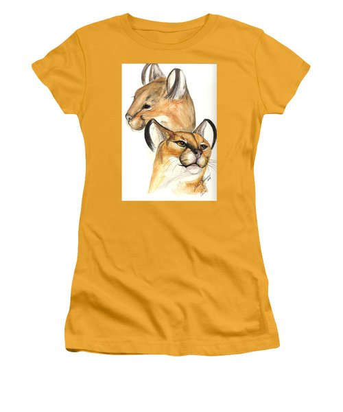 Caracal Women's T-Shirt (Athletic Fit)
