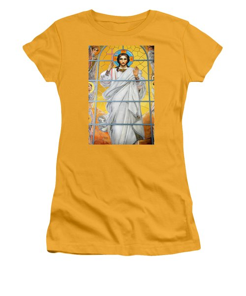 Christ The Redeemer Women's T-Shirt (Athletic Fit)