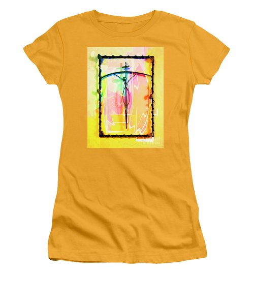 Women's T-Shirt (Junior Cut) featuring the photograph Easter Remembrance by Al Bourassa