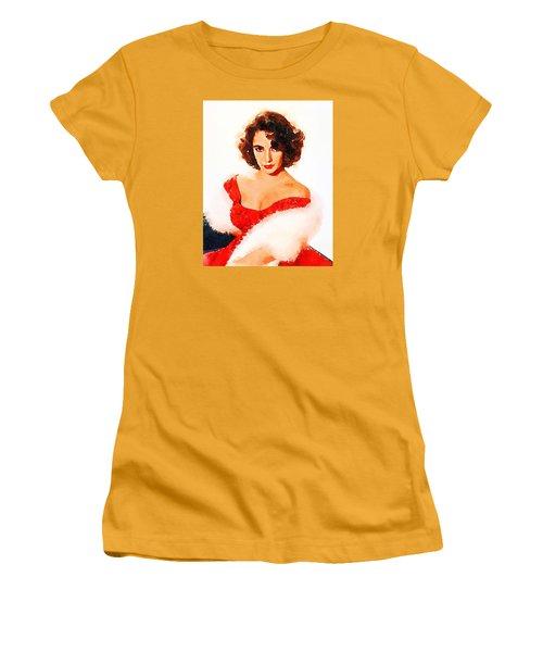 Elizabeth Taylor Women's T-Shirt (Athletic Fit)