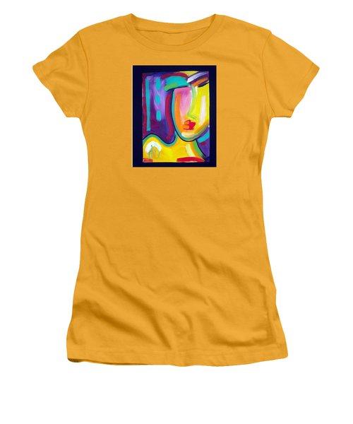 Face Women's T-Shirt (Junior Cut) by Heather Roddy