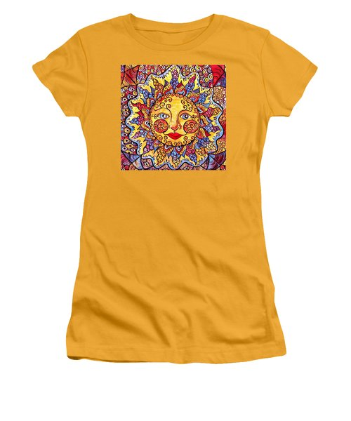 Fiesta Sun Women's T-Shirt (Athletic Fit)