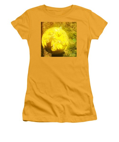 Fire Hydrant #4 Women's T-Shirt (Junior Cut) by Suzanne Lorenz