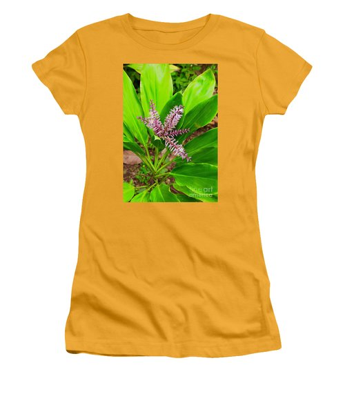 Flowering Ti Plant Women's T-Shirt (Athletic Fit)