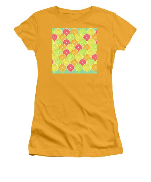 Fresh Fruit  Women's T-Shirt (Athletic Fit)