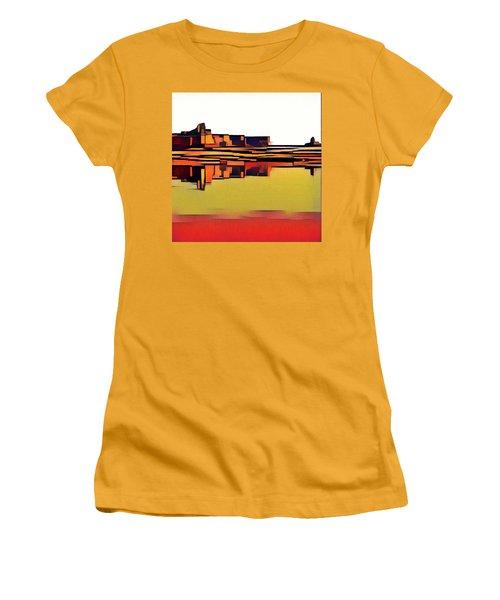 Padre Bay Women's T-Shirt (Junior Cut) by David Hansen