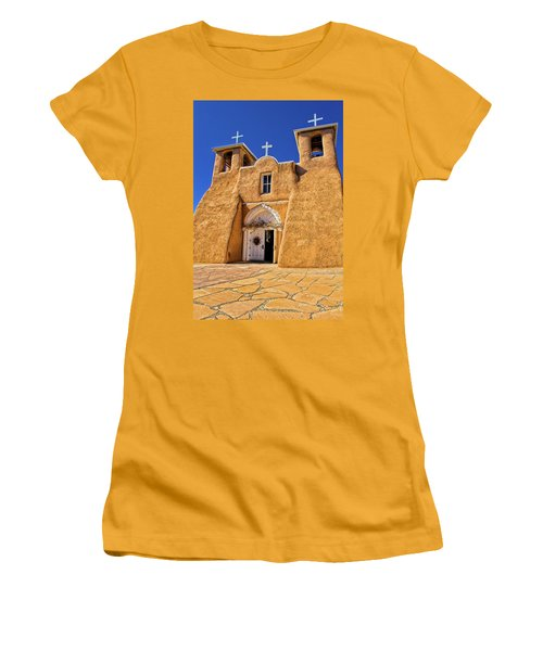 Ranchos De Taos Church  Women's T-Shirt (Athletic Fit)