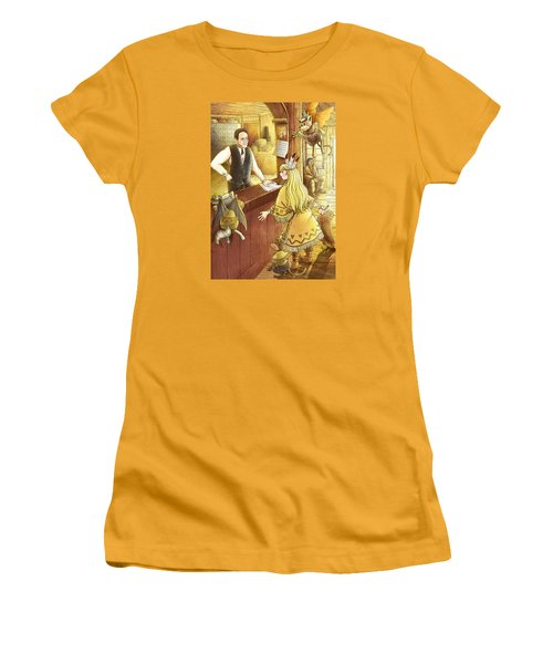 Tammy And The Postmaster Women's T-Shirt (Junior Cut) by Reynold Jay