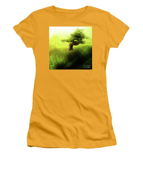 Women's T-Shirt (Junior Cut) featuring the photograph Tree Of Life by Mo T