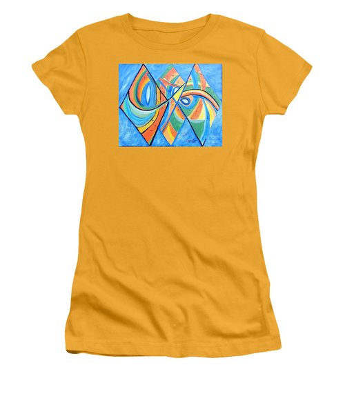 We're In This Together Women's T-Shirt (Athletic Fit)