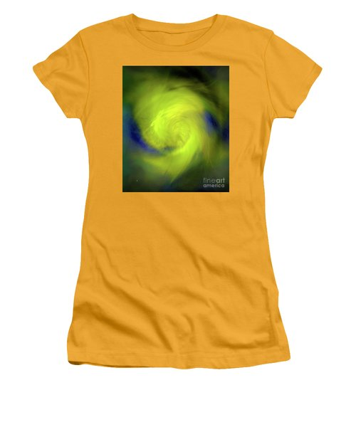 Women's T-Shirt (Junior Cut) featuring the digital art 1030-2017 by John Krakora