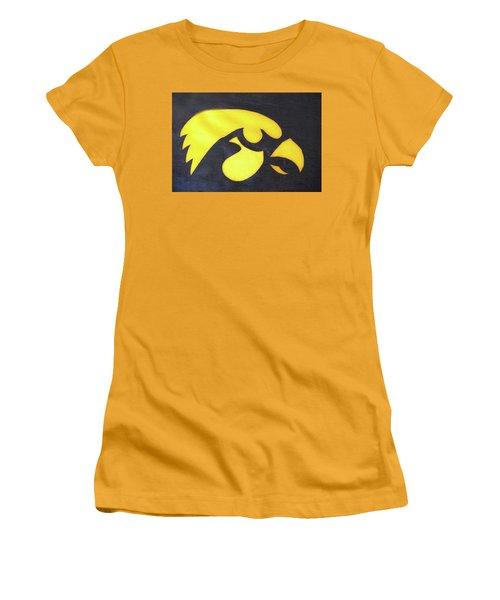 10724  Iowa Hawkeye Women's T-Shirt (Athletic Fit)