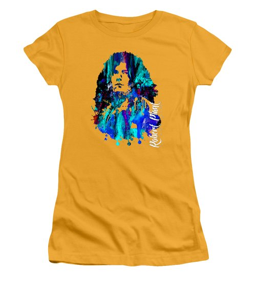 Robert Plant Collection Women's T-Shirt (Junior Cut) by Marvin Blaine