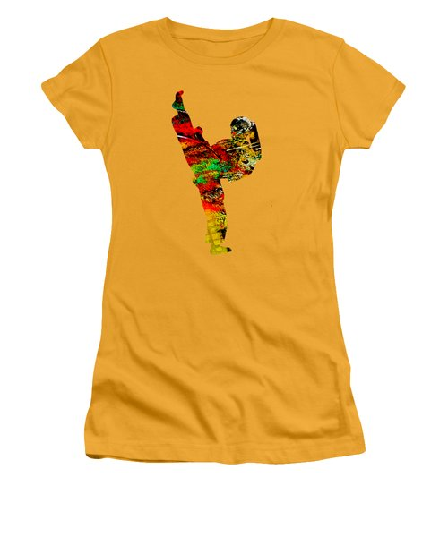 Martial Arts Collection Women's T-Shirt (Athletic Fit)