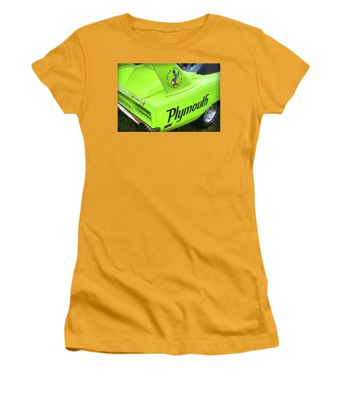 1970 Plymouth Superbird Women's T-Shirt (Athletic Fit)