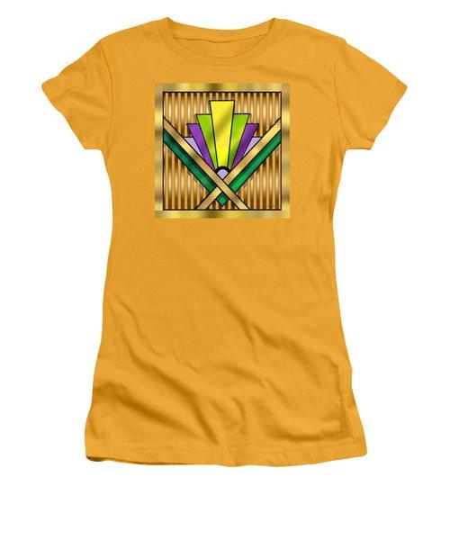 Art Deco 14 Transparent Women's T-Shirt (Junior Cut) by Chuck Staley