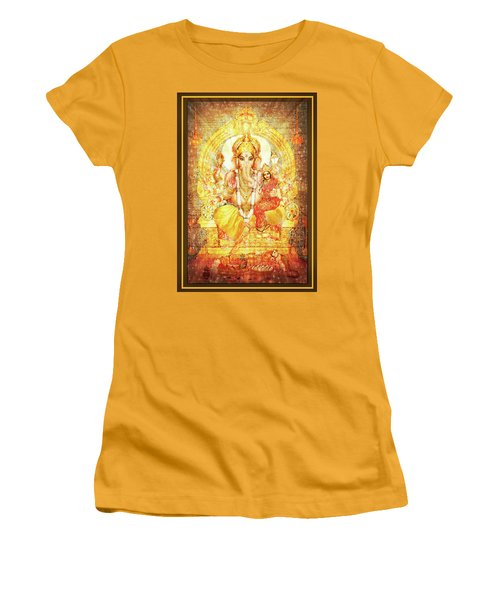 Ganesha Ganapati - Success Women's T-Shirt (Athletic Fit)