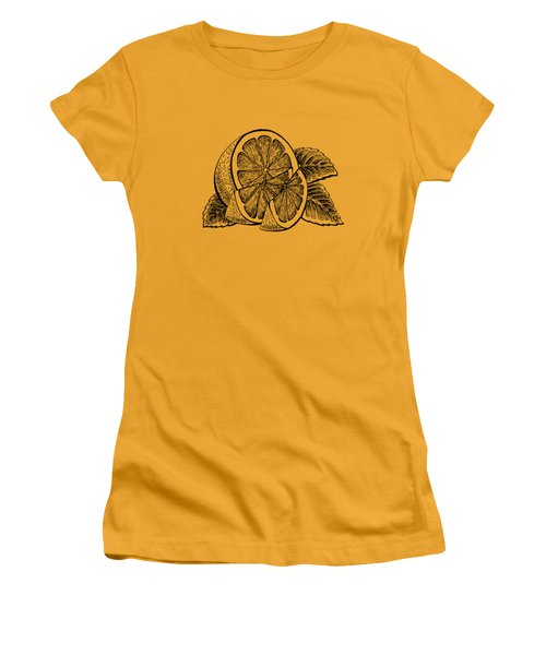 Lemon Women's T-Shirt (Junior Cut) by Irina Sztukowski