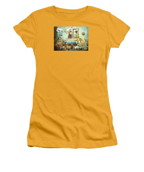 Mark The Magnificent Women's T-Shirt (Junior Cut) by Reynold Jay