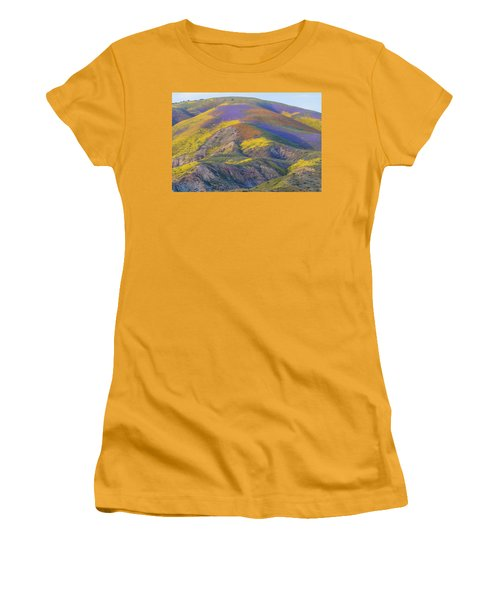 2017 Carrizo Plain Super Bloom Women's T-Shirt (Junior Cut) by Marc Crumpler