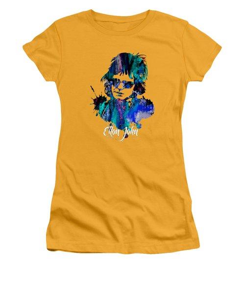 Elton John Collection Women's T-Shirt (Athletic Fit)