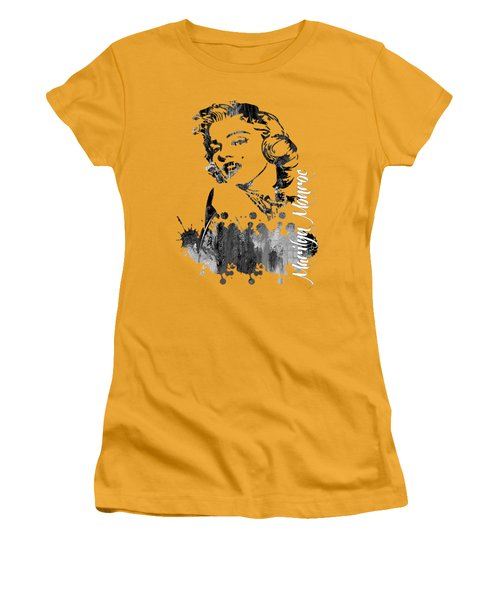 Marilyn Monroe Collection Women's T-Shirt (Athletic Fit)