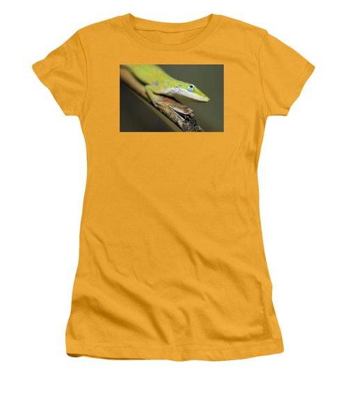 Anole Women's T-Shirt (Athletic Fit)