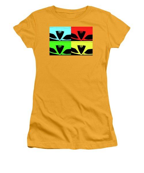 4 C Pop Women's T-Shirt (Junior Cut) by John Schneider