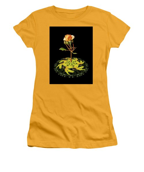 Women's T-Shirt (Junior Cut) featuring the photograph 4407 by Peter Holme III