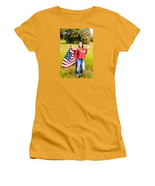 Women's T-Shirt (Junior Cut) featuring the photograph 5649 by Teresa Blanton