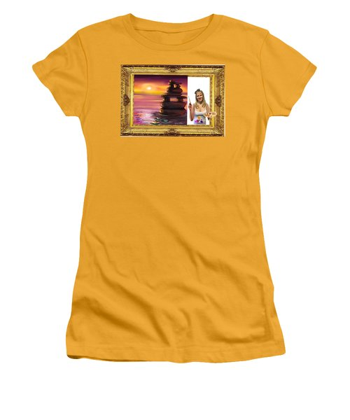 Cover Art For Gallery Women's T-Shirt (Junior Cut) by Diana Riukas