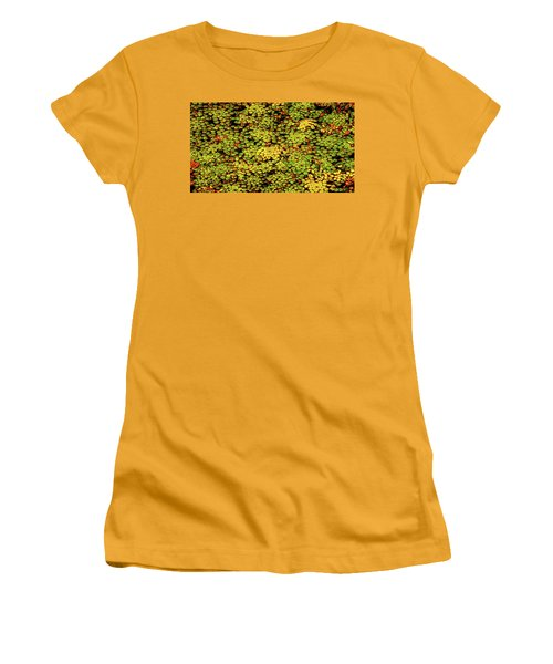 A Botanical Mosaic Women's T-Shirt (Athletic Fit)