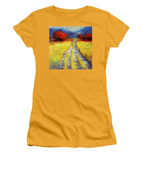 A Long Journey Women's T-Shirt (Athletic Fit)