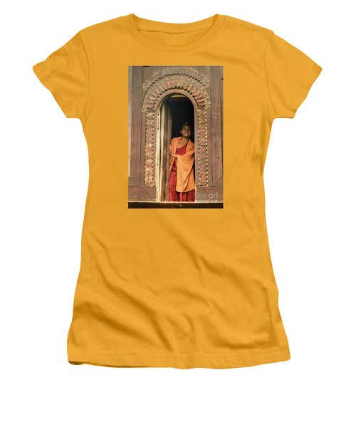 A Monk 4 Women's T-Shirt (Junior Cut)