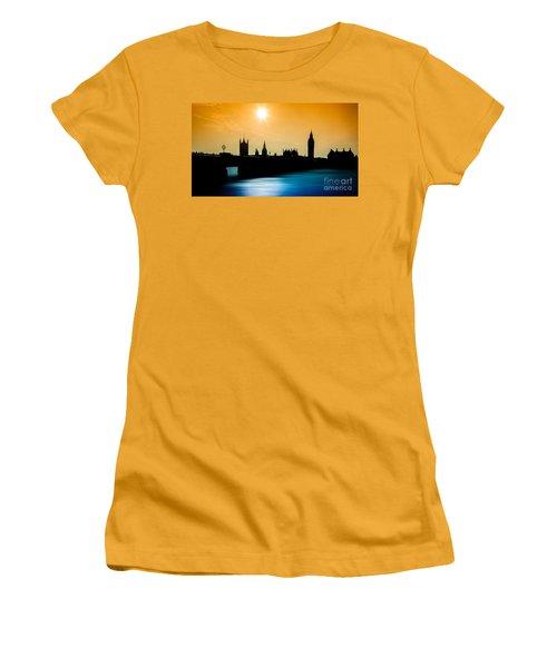 A Sunny Shape Women's T-Shirt (Junior Cut) by Giuseppe Torre