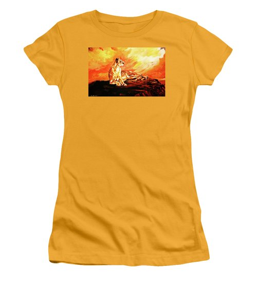 A Time To Relax Women's T-Shirt (Athletic Fit)