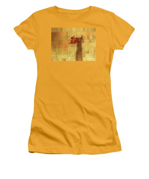 Abstract Floral - 14v2ft Women's T-Shirt (Junior Cut) by Variance Collections