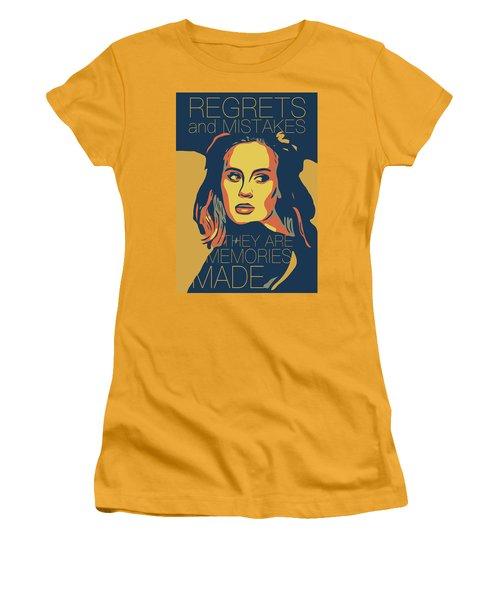 Adele Women's T-Shirt (Junior Cut) by Greatom London