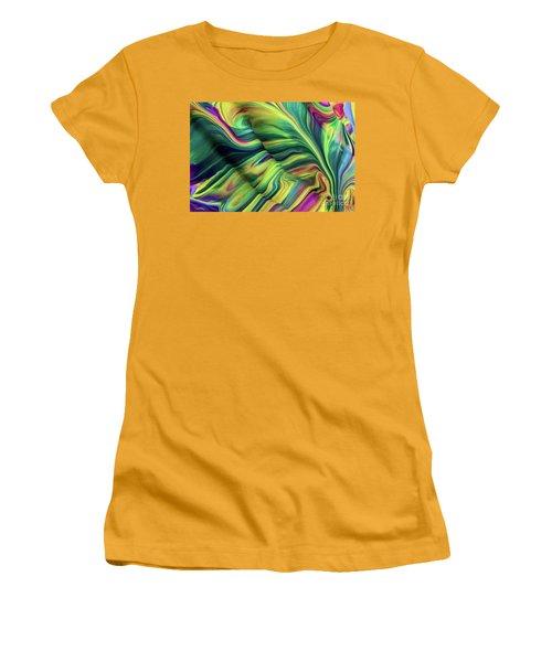 Aegean Wave Women's T-Shirt (Athletic Fit)